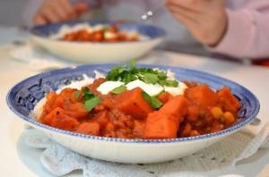Stew with Rice - Image Credit Free Range Stock - TomasAdomaitis
